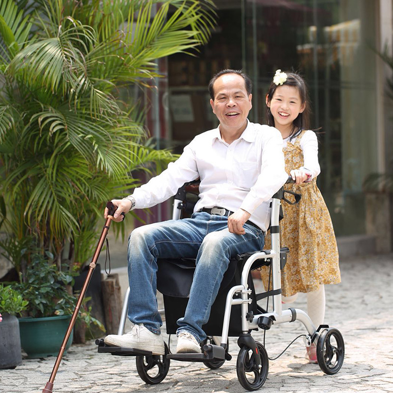 Wholesale foldable aluminum rollator HCT Medical Brand
