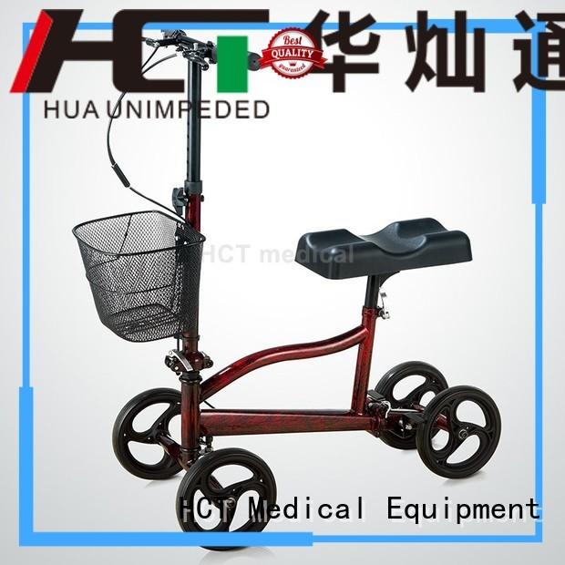 ambulate knee walker steel terrain knee walker scooter knee HCT Medical Brand