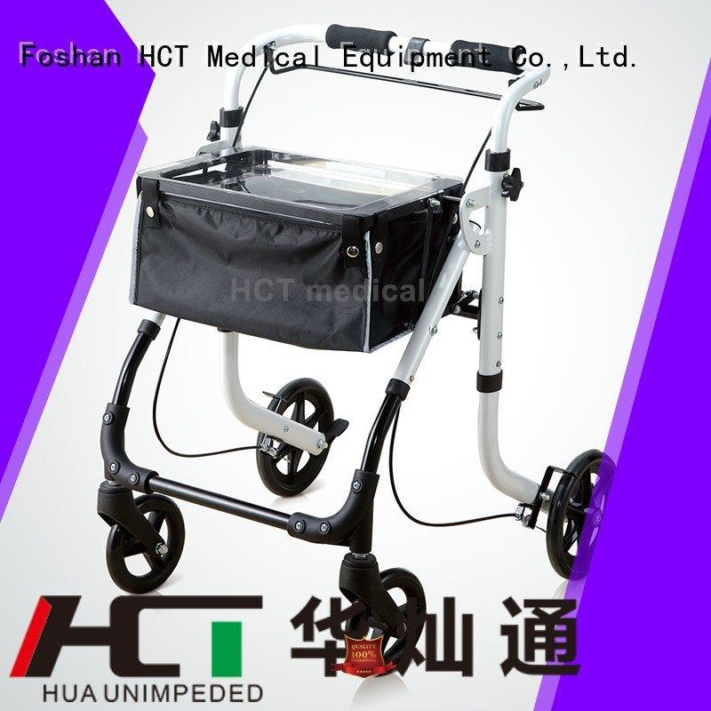 height rollator HCT Medical rollator walker