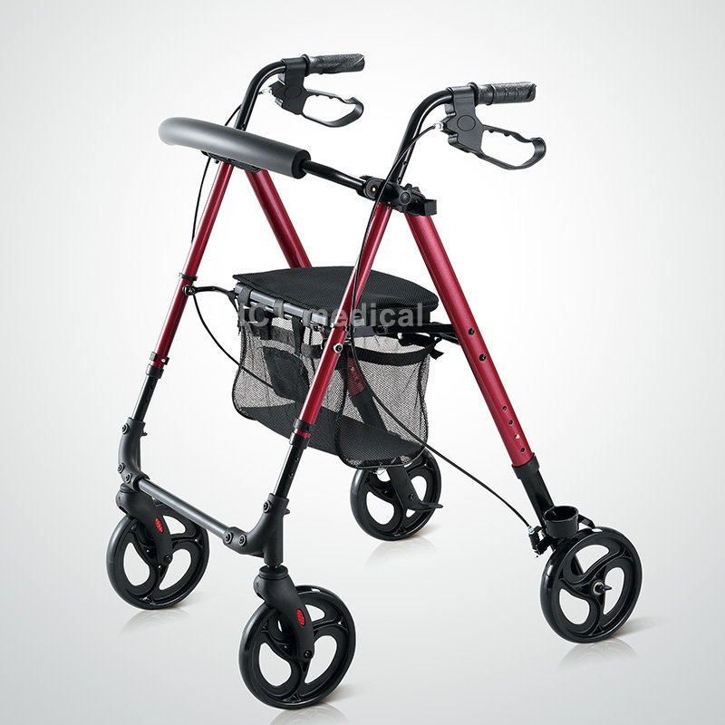 Seat Height Adjustable Rollator HCT-9188