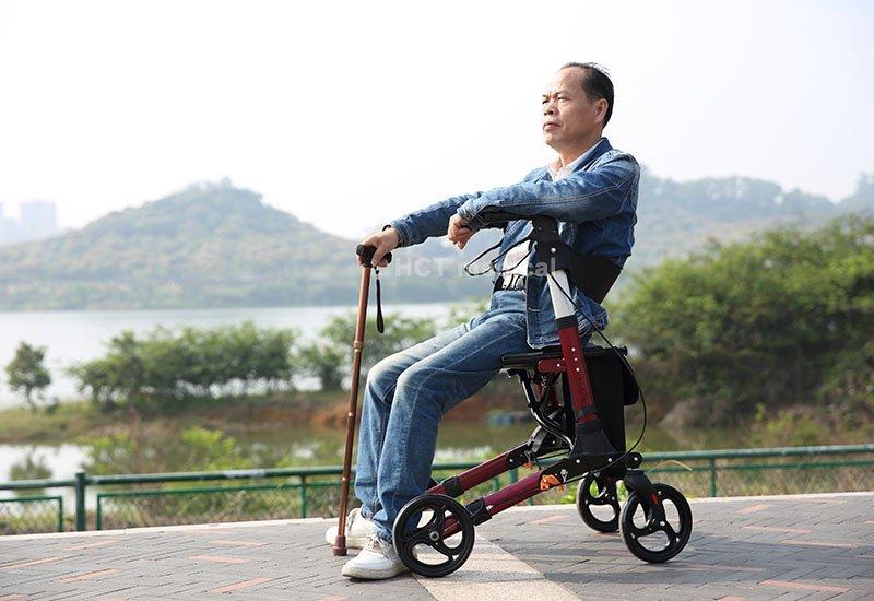 HCT Medical Brand function bag indoor rollator walker