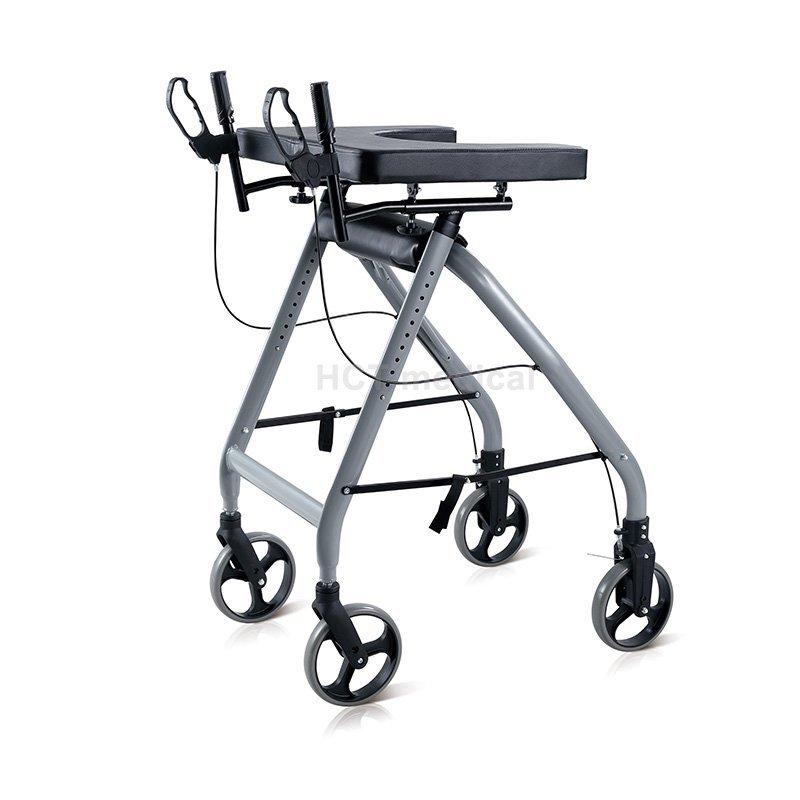 steel height rollator walker HCT Medical Brand