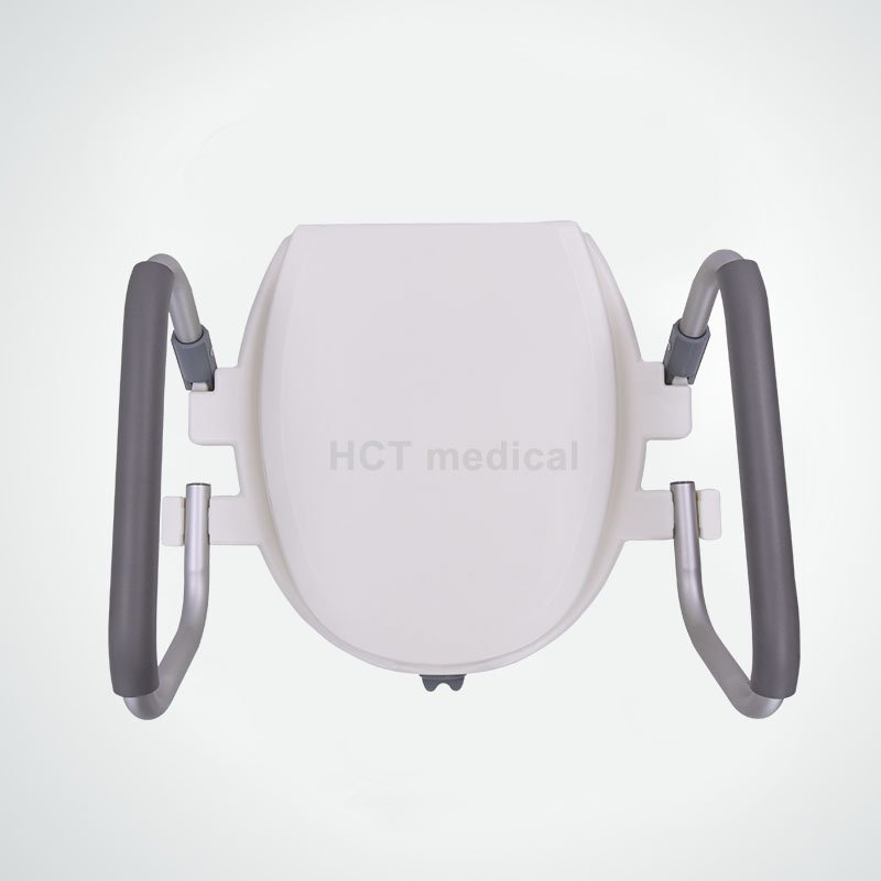 Raised Toilet Seat With Lid And Arms HCT-7060B-N