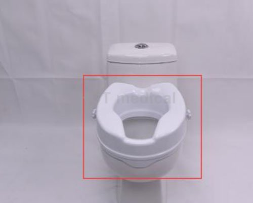 handrails 4″ toilet raised toilet seat armrest HCT Medical