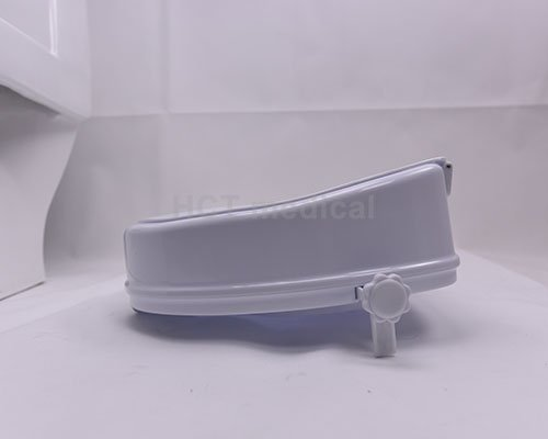 seat handrails raised toilet seat with armrest toilet raised HCT Medical Brand