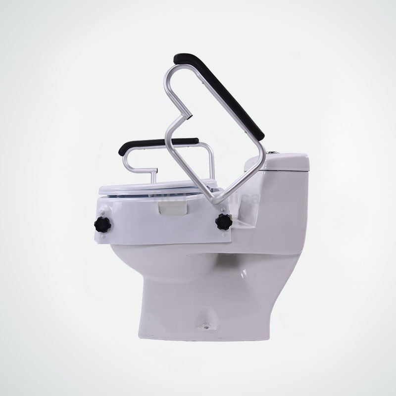 Raised Toilet Seat with Handrails HCT-7060H