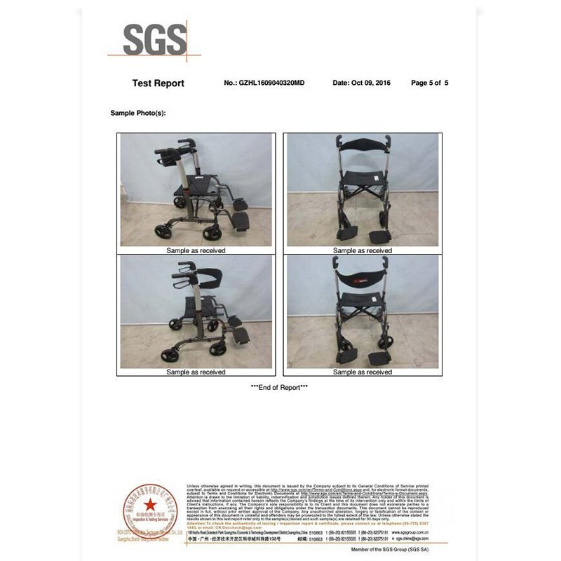 SGS test report HCT- 9124A