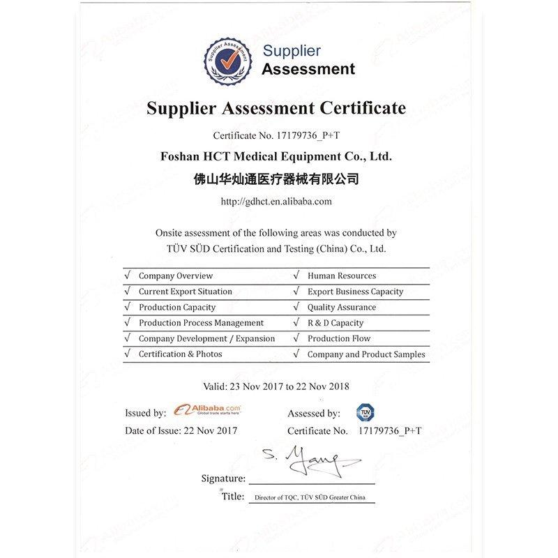 TUV assessed