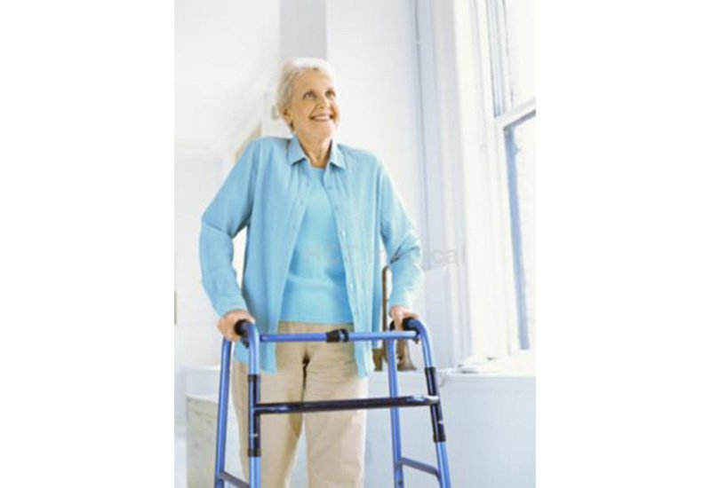 HCT Medical Brand articulated rollator walker