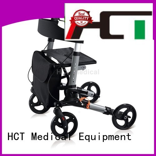 functional articulated rollator walker foldable HCT Medical