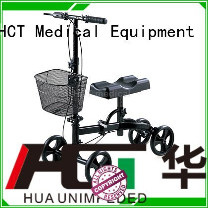 HCT Medical ambulate knee walker knee all terrain steel