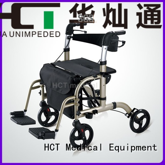 HCT Medical Brand rollator folding rollator walker rolling factory
