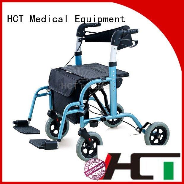 HCT Medical Brand transport rollator walker