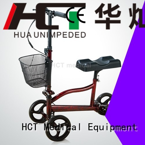 HCT Medical Brand knee knee walker scooter all factory