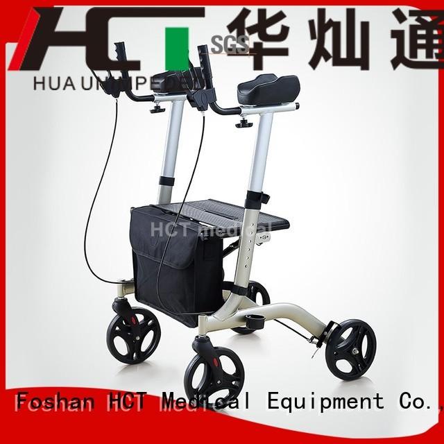 aluminum rollator indoor rollator walker HCT Medical Brand