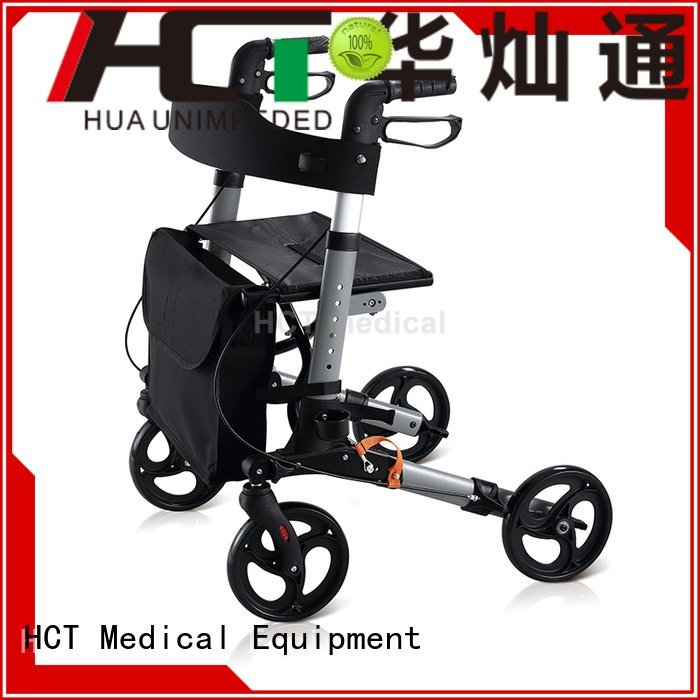 adjustable rollator walker folding HCT Medical