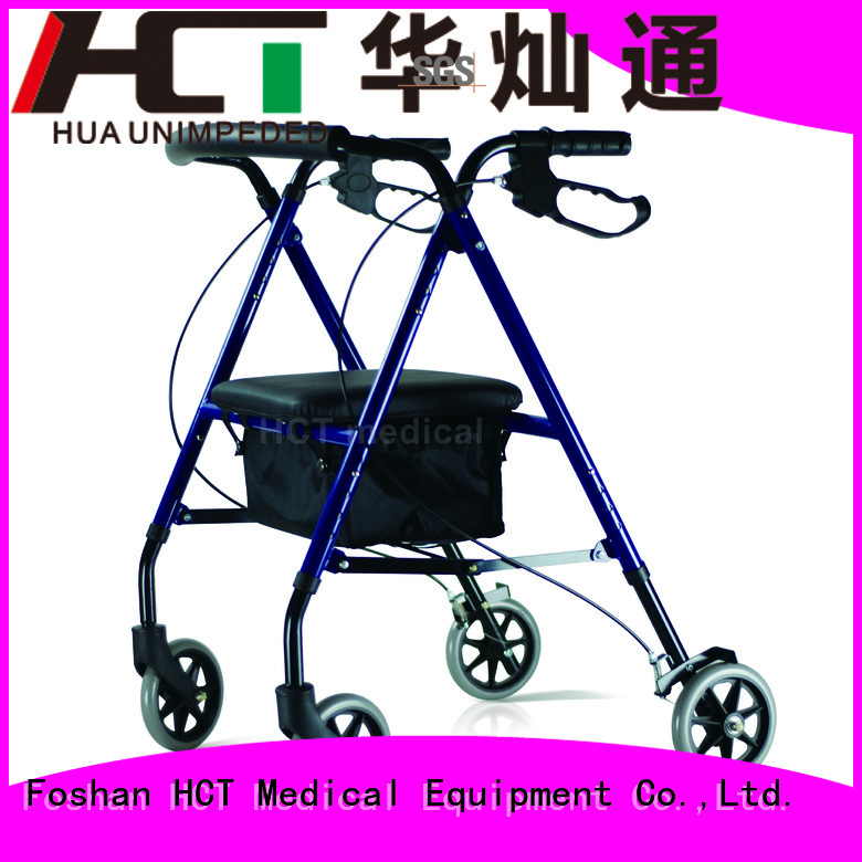 Hot simple aluminum rollator version HCT Medical Brand