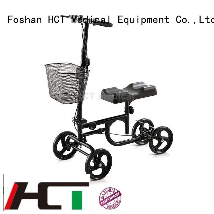 HCT Medical Brand knee ambulate knee walker all supplier