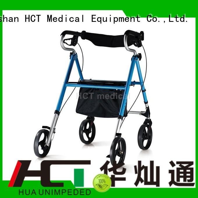 patent Quality HCT Medical Brand aluminum rollator indoor adult aluminum rollator