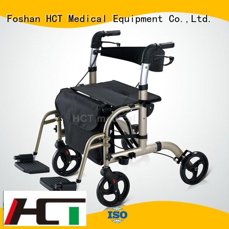 Hot forearm aluminum rollator knockeddown HCT Medical Brand