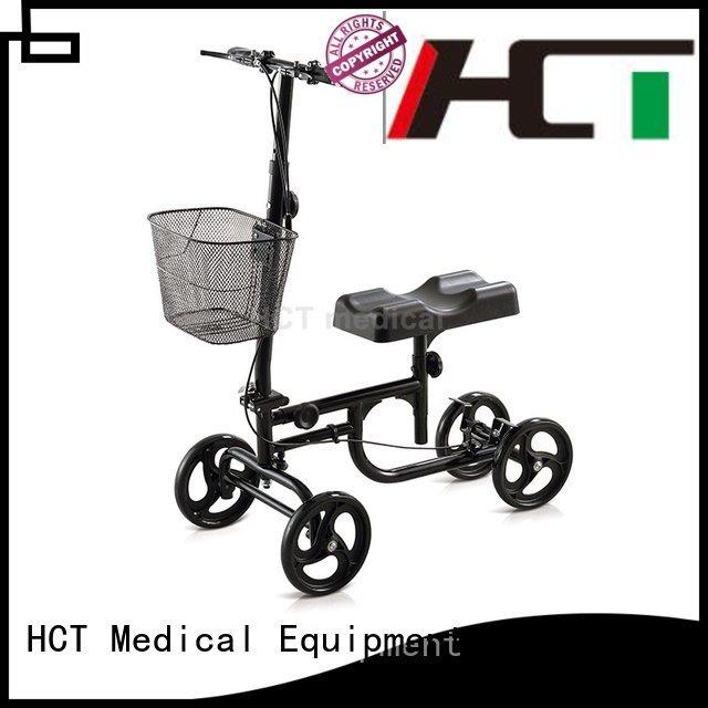 HCT Medical steel knee knee walker scooter terrain walker