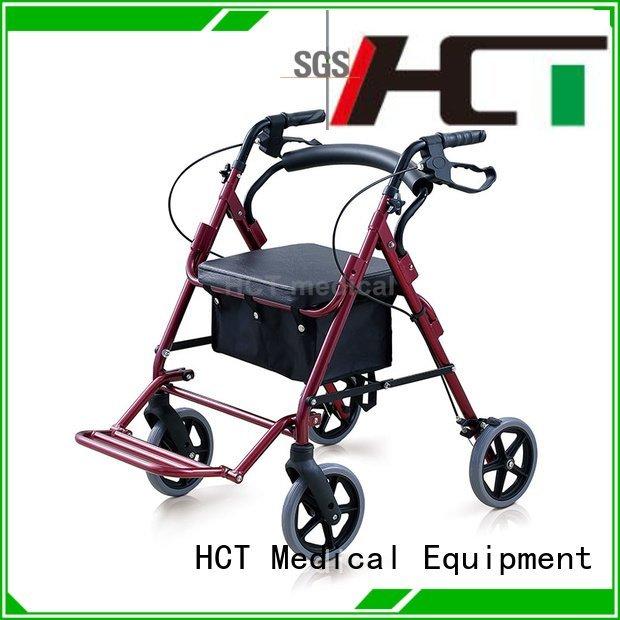 version aluminum rollator folding HCT Medical