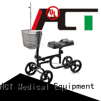 knee steel terrain knee walker scooter HCT Medical Brand