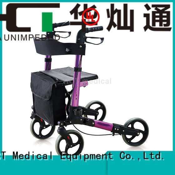 Hot aluminum rollator adult rollator walker folding HCT Medical