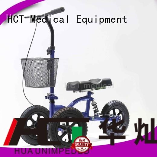 knee steel knee walker scooter all walker HCT Medical company