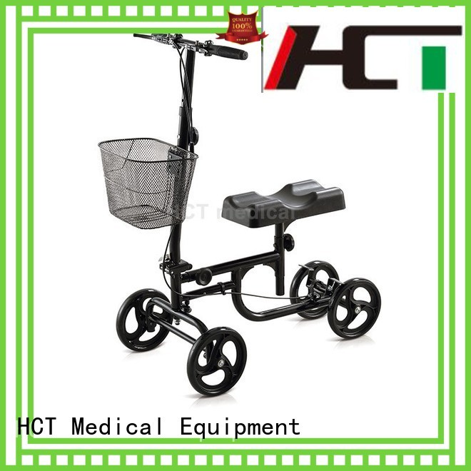 walker steel knee walker scooter terrain HCT Medical company