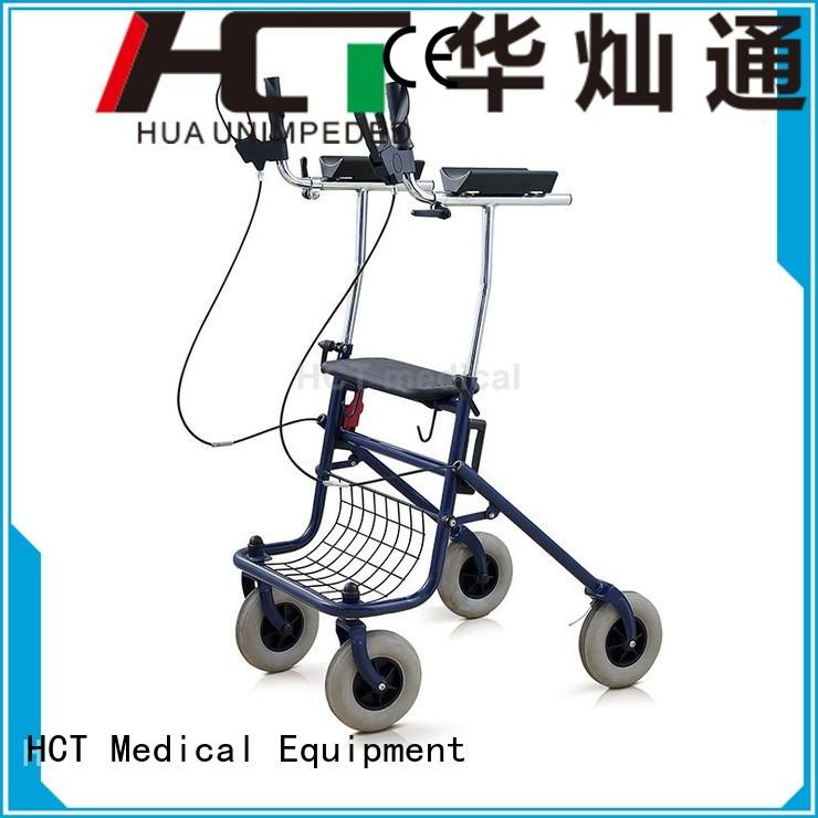 foldable rollator walker transport HCT Medical