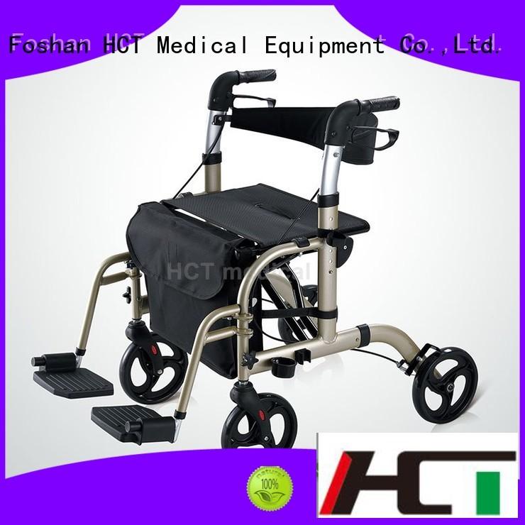 HCT Medical Brand steel custom aluminum rollator