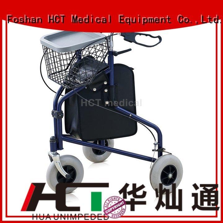 HCT Medical Brand patent rollator walker