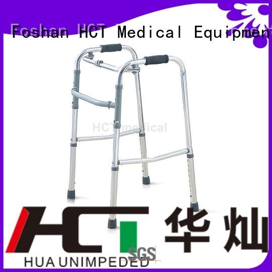 functional aluminum steel rollator walker HCT Medical Brand