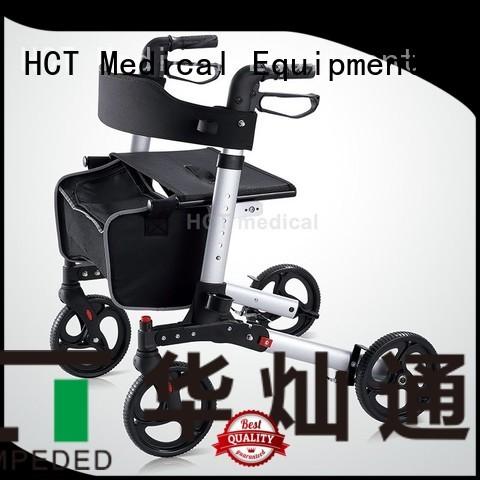 rollator transport height aluminum rollator HCT Medical manufacture