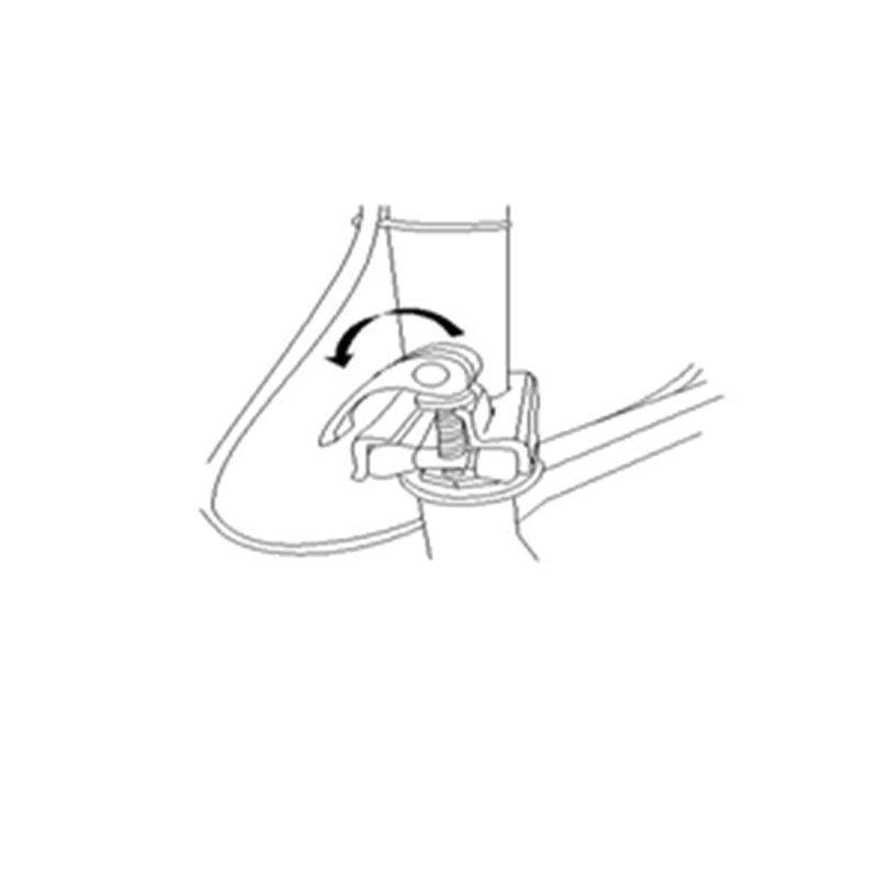How do I fold and unfold my knee walker?