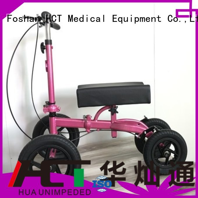 steel walker terrain ambulate knee walker HCT Medical manufacture