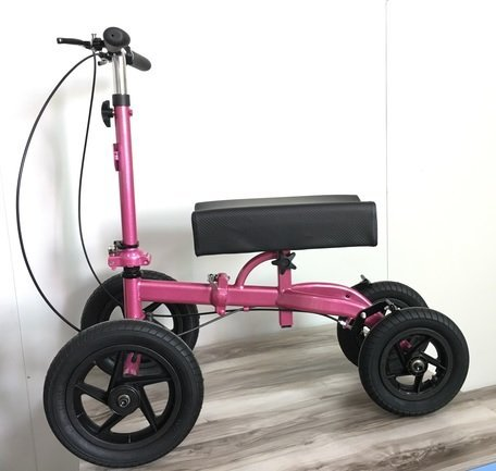 Knee walker scooter with knee support HCT-9125F