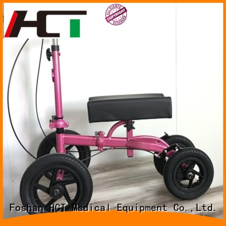 knee steel knee walker scooter walker HCT Medical Brand